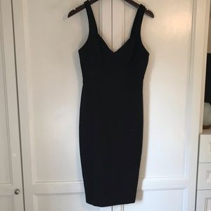 LIKELY Black Bodycon Cocktail Dress